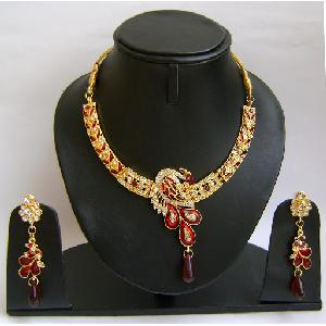 Indian Bridal Jewelry Set NP-385 Image