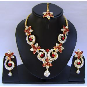 Indian Bridal Jewellry Set NP-397 Image