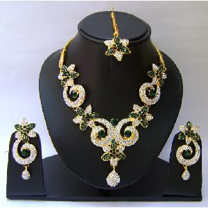 Indian Bridal Jewellry Set NP-398 Image