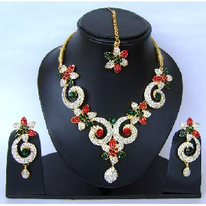 Indian Bridal Jewellry Set NP-399 Image