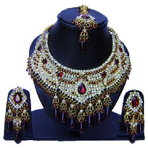 Indian Bridal Jewelry Set NP-544 Image