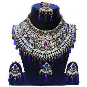 Indian Bridal Jewelry Set NP-545 Image