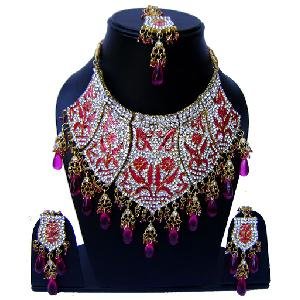 Indian Bridal Jewelry Set NP-549 Image