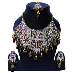 Indian Bridal Jewelry Set NP-560 Image