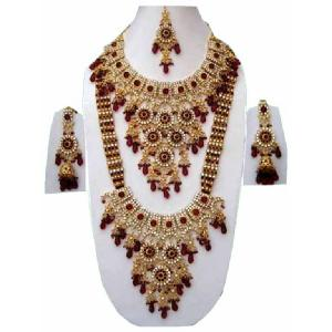 Indian Fashion Jewelry Set JVS-234 Image