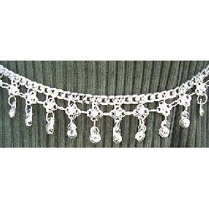 Belly Chain Silver Belt Belly Dancing CH Image