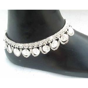 Silver Indian Anklets A Image