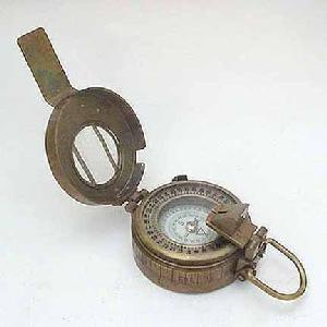 1940s British Special Forces Military Compass Image