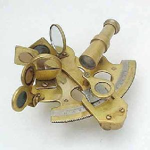 Antique Marine Sextant Image