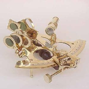 Brass Marine Sextant 8 inch Image