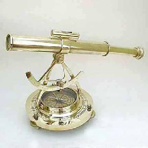 Nautical Brass 10 inch Alidade Theodolite Image