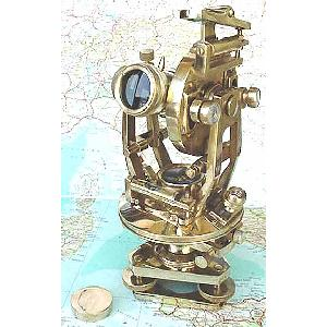 Brass Antique Style Theodolite Survey Instrument Image