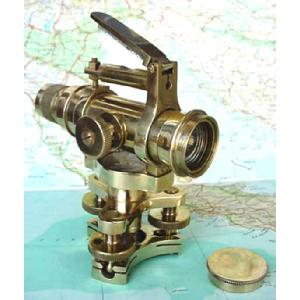 The Nautical Solid Brass Dumpy Level Image
