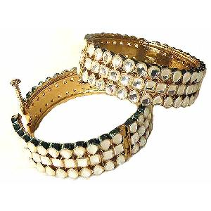 Pair of Diamond Bracelets Image