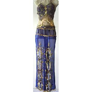 Magenta Belly Dancer Harem Pant Costume FG Image