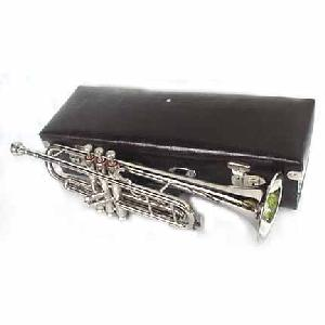 New Silver Bb Deluxe Trumpet with Hardcase Image