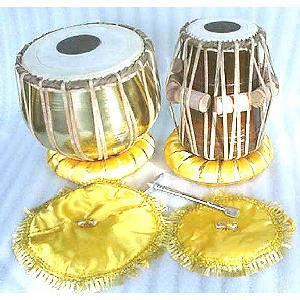 Brass Tabla Indian Percussion Drums Image
