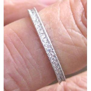 Diamond Ring Sterling Silver 92.5 purity Des3 Image