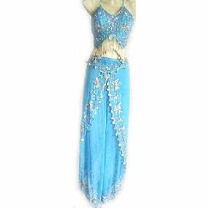 Turqoise Belly Dancer Costume dress C Image