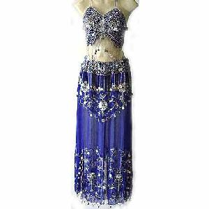 Online Dancewear Costume Blue Dress DS Image