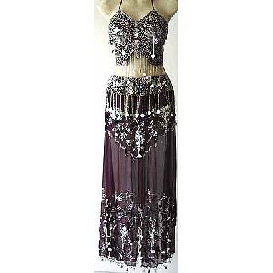 Bordeaux Belly Dancer Costume Dress DS Image