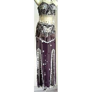 Brown Belly Dancer Costume Dress C Image