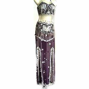 Chocolate Brown Belly Dancer Costume Dress CS Image