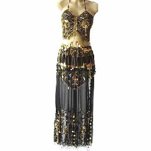 Lyrical Dance Costumes Dress D Black Image