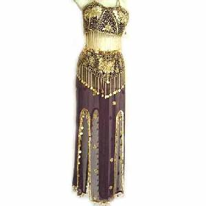 Dress C Bordeaux Bellydancing Costume Image