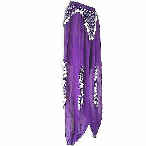 Belly Dancer Harem Pants Purple Ae Image
