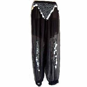 Belly Dancer Harem Pants Black Ag Image