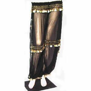 Belly Dancer Harem Pant Black B Image