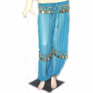 Belly Dancer Harem Pant Turqoise B Image